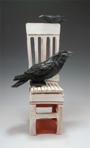 Raven Seated