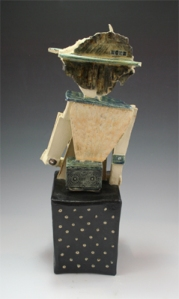 Thinking of Home ceramic sculpture