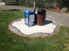 Recology Ashland Sanitary Service Recycling mosaic