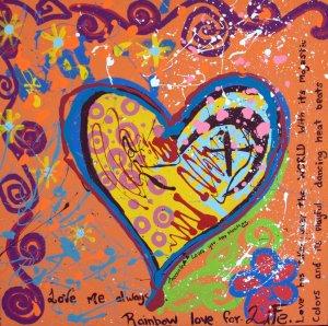 Love Me Always, Art by Inocente